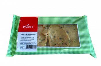 producto tortillas de camarones