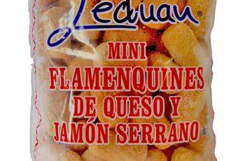 Mini Flamenquin Serrano y Queso de Leduan congelados Málaga Cocelang