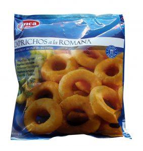Caprichos calamares rebozados congelados venta Málaga