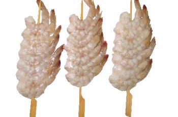 Pinchos de langostino congelado - Cocelang productos congelados