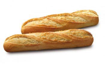barras de pan congelada