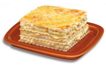 lasaña cuatro quesos congelada
