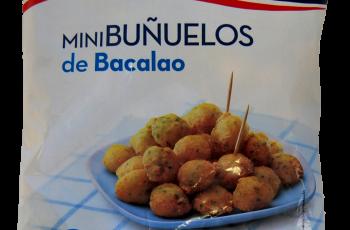 minibuñuelos de bacalao congelados distribución de congelados Málaga