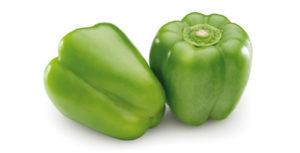 pimiento verde congelado en diferentes formatos