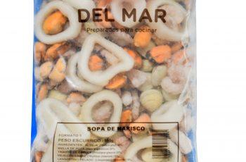 Sopa de marisco congelada Mayorista congelados en Málaga