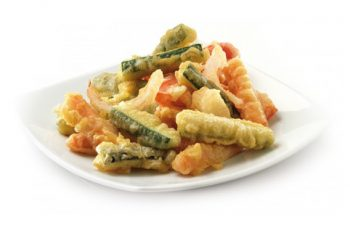 tempura de verduras congelada