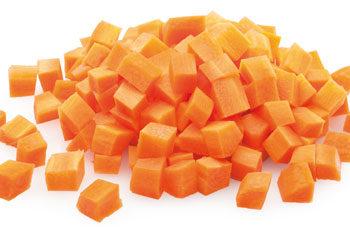Dados de zanahoria congelados - Distribución de congelados