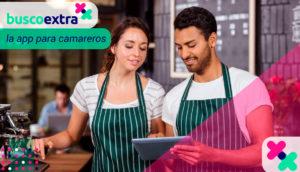 Busco Extra aplicación camareros hostelería málaga