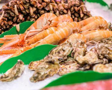 El marisco en Navidad, ¿qué se consume más? - Pescados y Mariscos